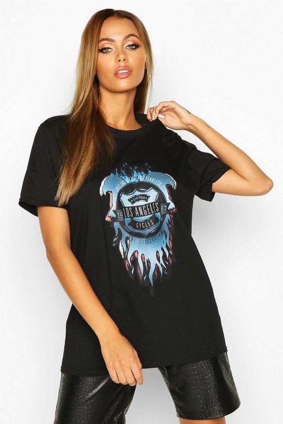 Los Angeles Slogan T-Shirt