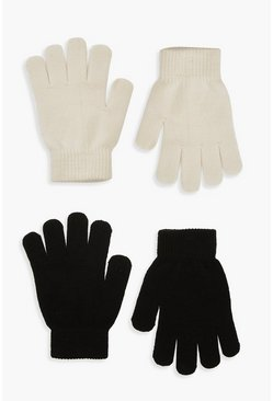 2er-Pack Magic Gloves, Creme