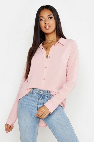 Womens Rose Woven Blouse