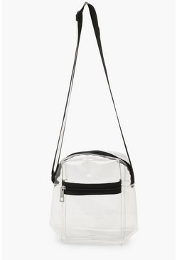 Womens Clear Crossbody Bag