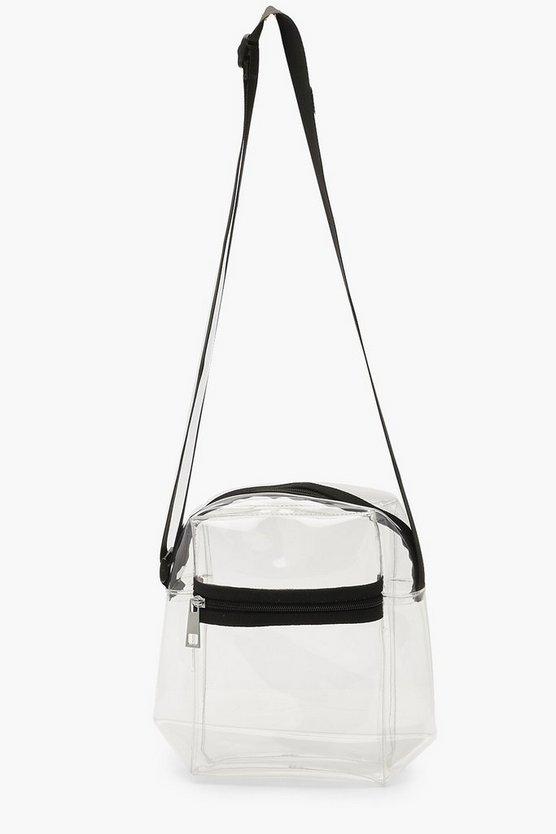 Clear Crossbody Bag by Boohoo