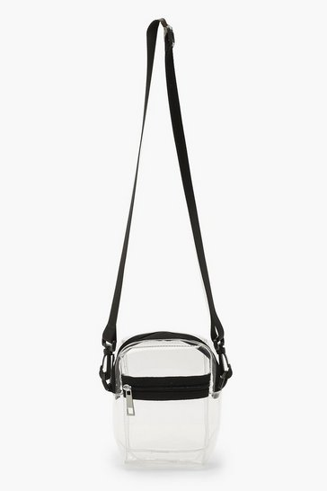 Womens Clear Mini Crossbody Bag