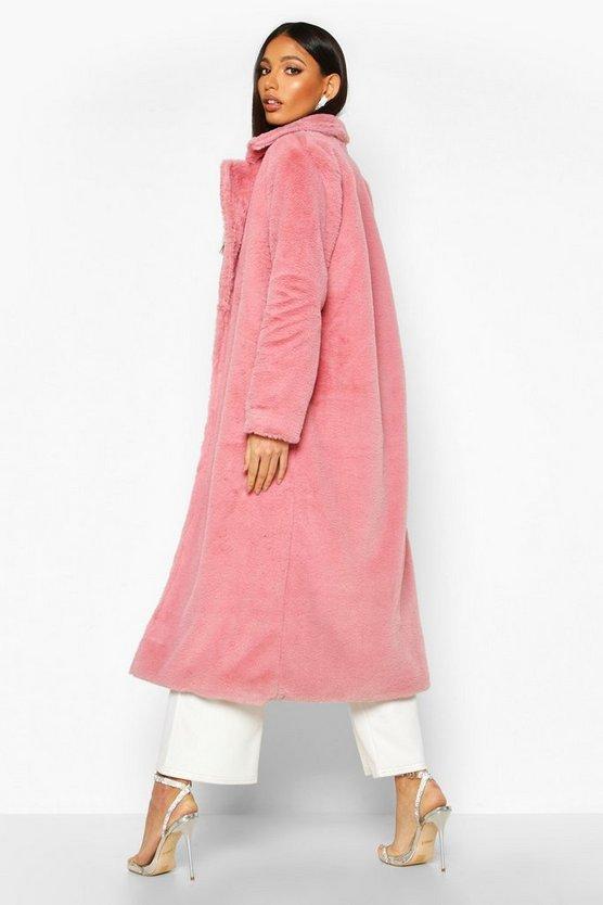 Maxi Faux Fur Coat