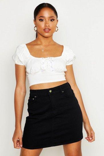 6bc8f2bd0 Denim Skirts | Jean Skirts | boohoo UK