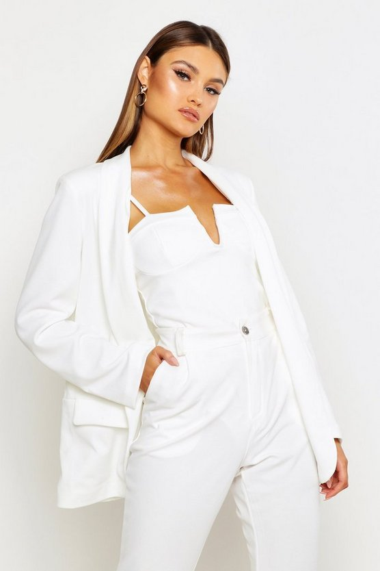 Shawl Collar Tailored Blazer by Boohoo