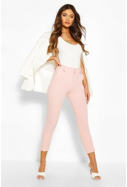 Blush Tailored Tapered Pants