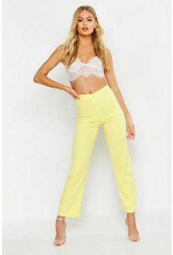 Womens Lemon Wide Leg Trousers
