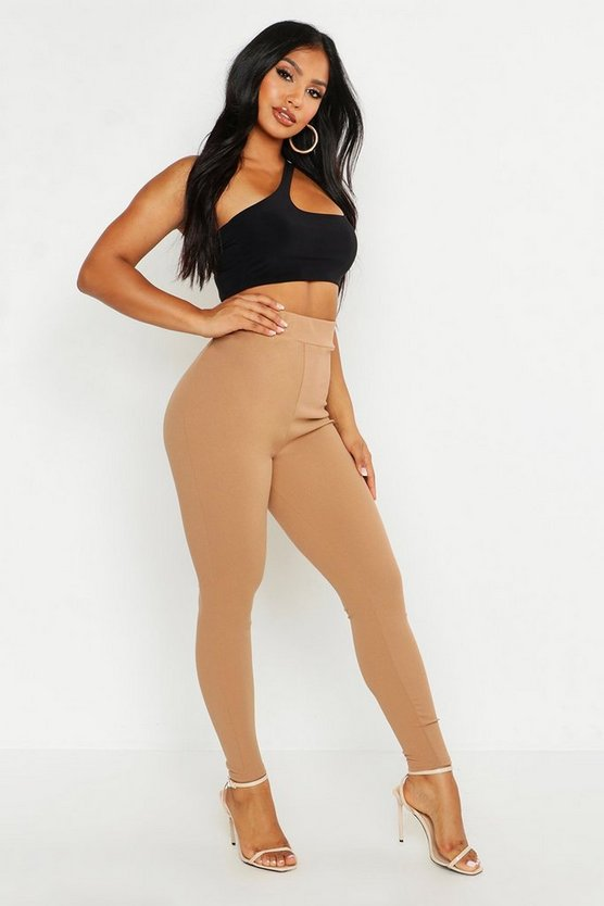 Womens Camel High Waist Sculpt Leggings