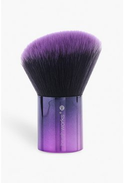 Womens Purple Brushworks HD Blush Kabuki