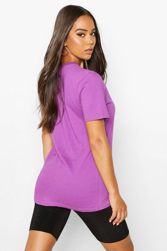 Woman Script Embroidered T-Shirt