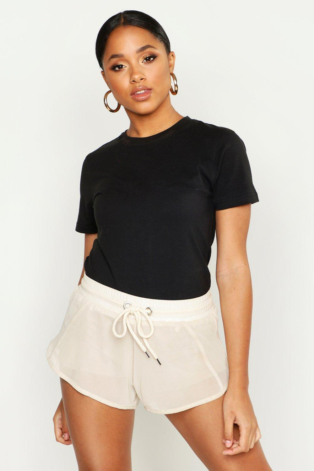 Crew Neck T Shirt by Boohoo