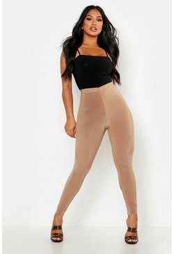 Womens Stone Double Up V Front Legging