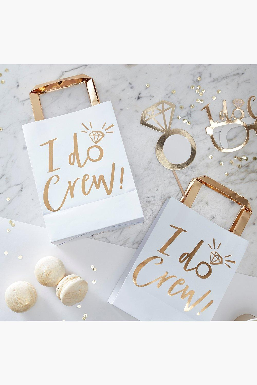 best shoes lowest discount get new I Do Crew Party Bags 5 Pack | Boohoo