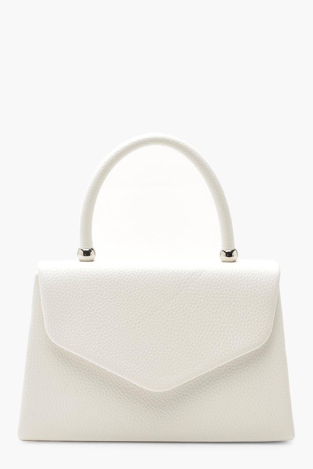 elegant shoes fashionable and attractive package uk store Textured Mini Clutch Bag & Handle | Boohoo