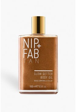 Womens Gold Nip + Fab Glow Getter Body Oil 100ml