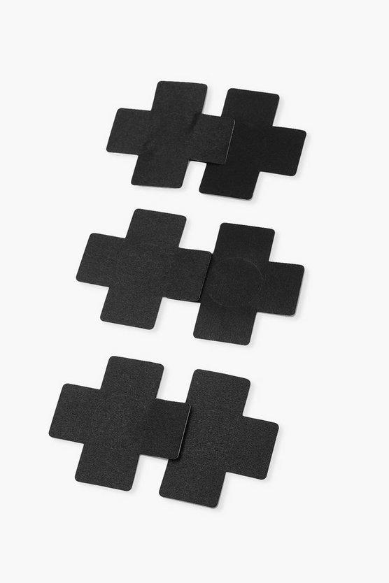 Cross Nipple Covers 3 Pack