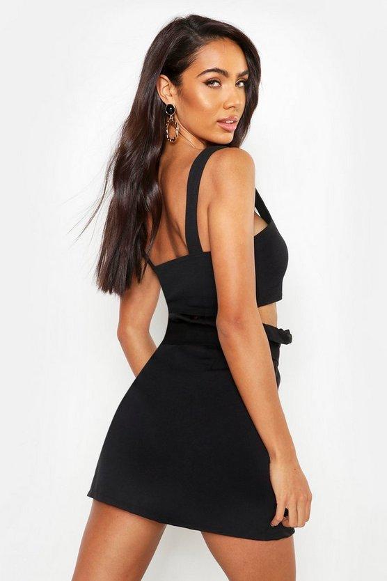 The Tailored Paperbag Waist Skirt