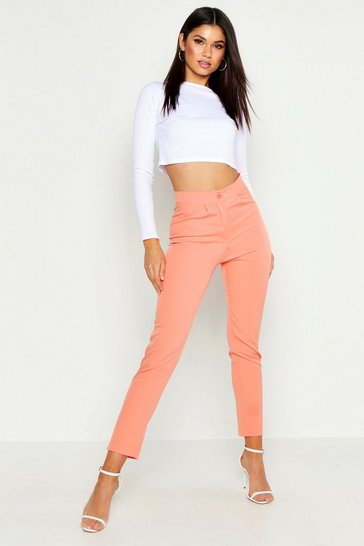 Womens Coral The Tailored Ankle Grazer Trouser