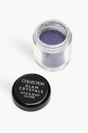 Womens Purple Collection Crystals Loose Glitter - Diva