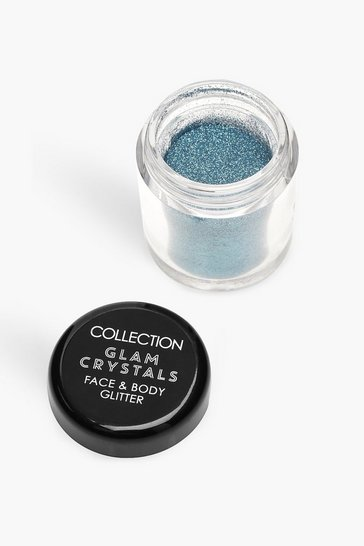 Womens Blue Collection Crystals Loose Glitter - Splash