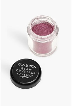 Womens Pink Collection Crystals Loose Glitter - Temptation