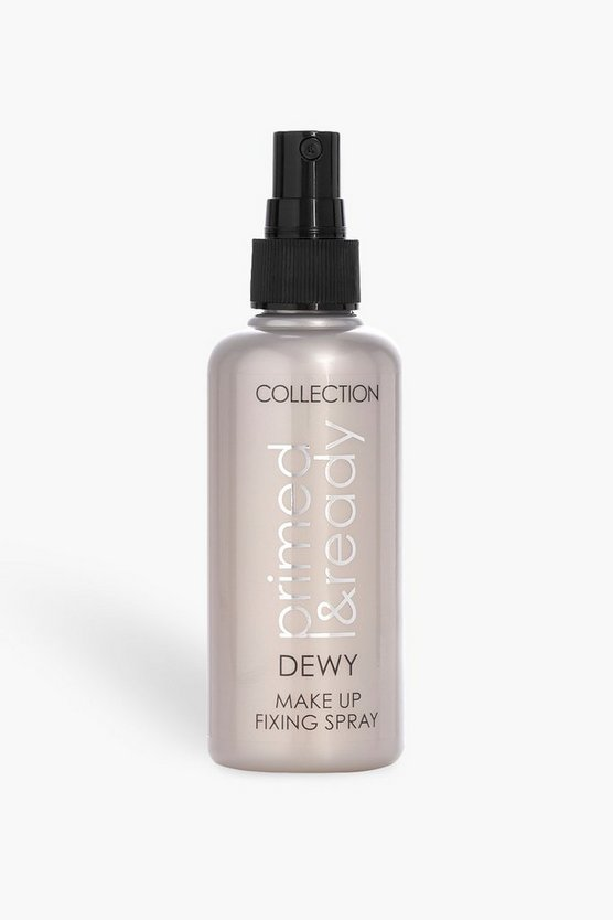 Womens White Collection Primed & Ready Dewy Fixing Spray