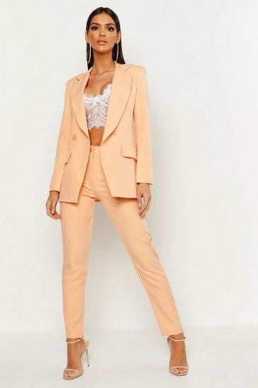 Orange Tailored Trouser