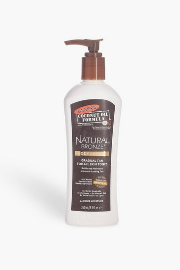 Womens Brown Palmer's Coconut Oil Natural Gradual Tan 250ml