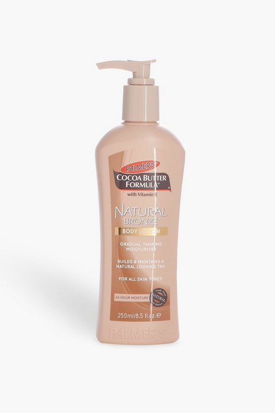 Womens White Palmer's Natural Bronze Tanning Lotion 250ml