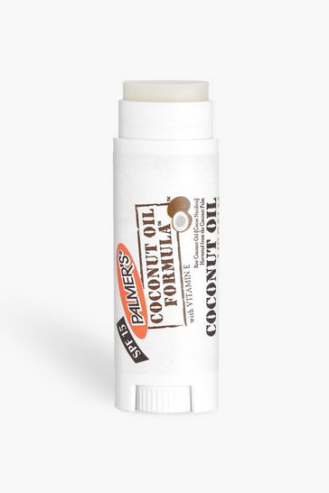 Womens White Palmers Coconut Oil Lip Balm