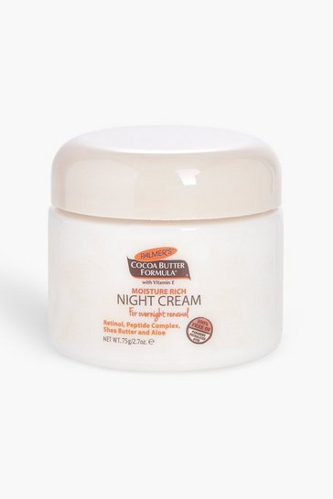 Womens White Palmers Moisturiuser Rich Night Cream