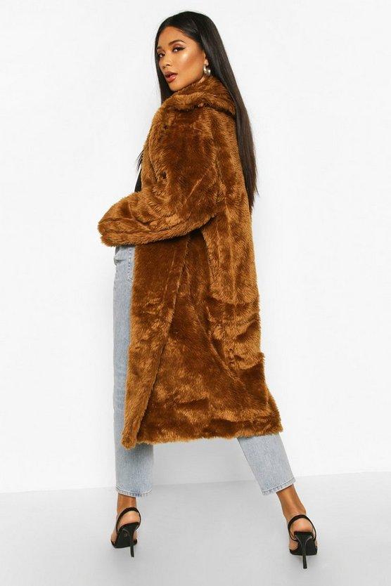 Oversized Teddy Faux Fur Coat