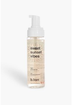 Womens White B.Tan Sweet Sunset Vibes Light Gradual Tan