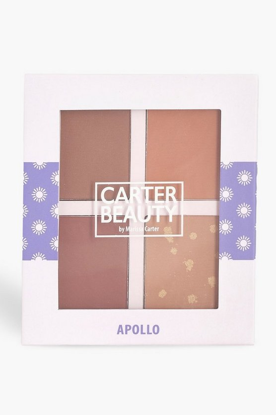 Womens Brown Carter Beauty Apollo Bronzing Palette