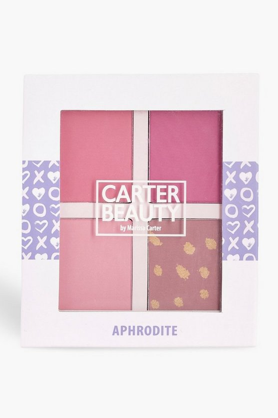 Coral Carter Beauty Aphrodite Blusher Palette