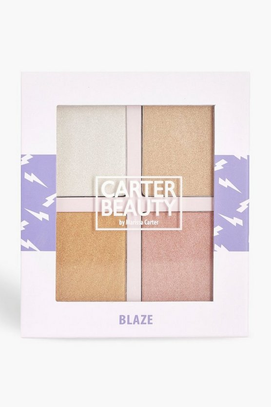 Womens Carter Beauty Blaze Highlighter Palette