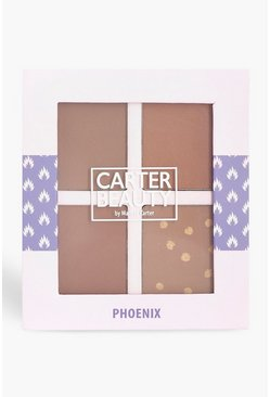 Womens Brown Carter Beauty Phoenix Bronzing Palette