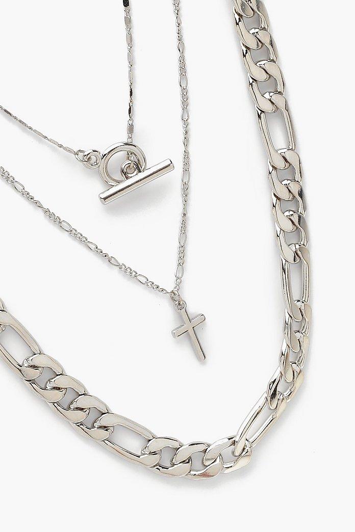 silver halsband herr kedja