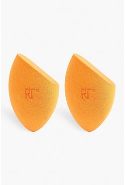 Womens Orange Real Techniques 2 Pack Miracle Complexion Sponges