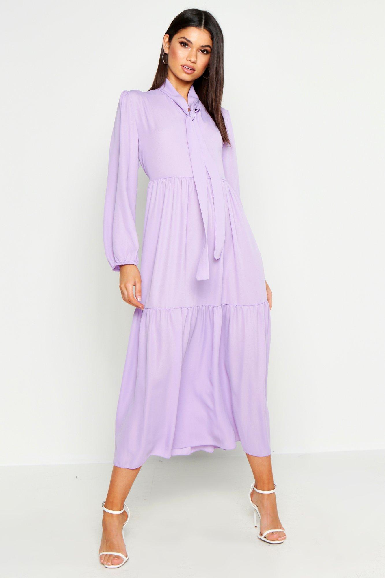70s Dresses – Disco Dress, Hippie Dress, Wrap Dress Oversized Smock Dress $44.00 AT vintagedancer.com