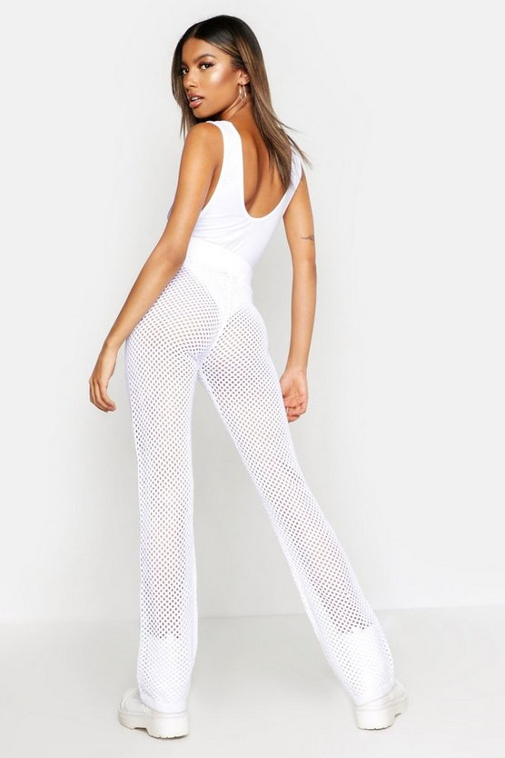 Crochet Knit Trouser