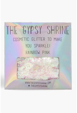 The Gypsy Shrine borsa glitterata con arcobaleno, colore rosa, Femmina