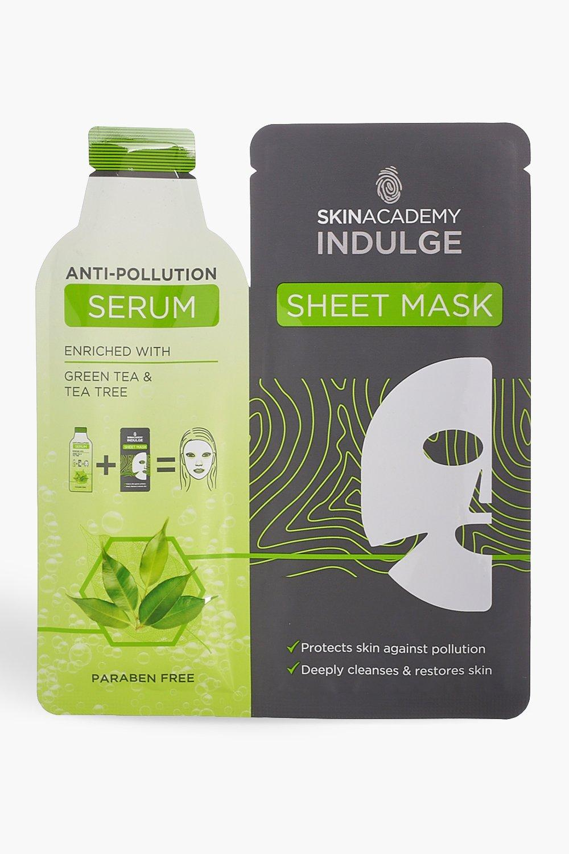 Skin Academy Anti Pollution Sheet Face Mask