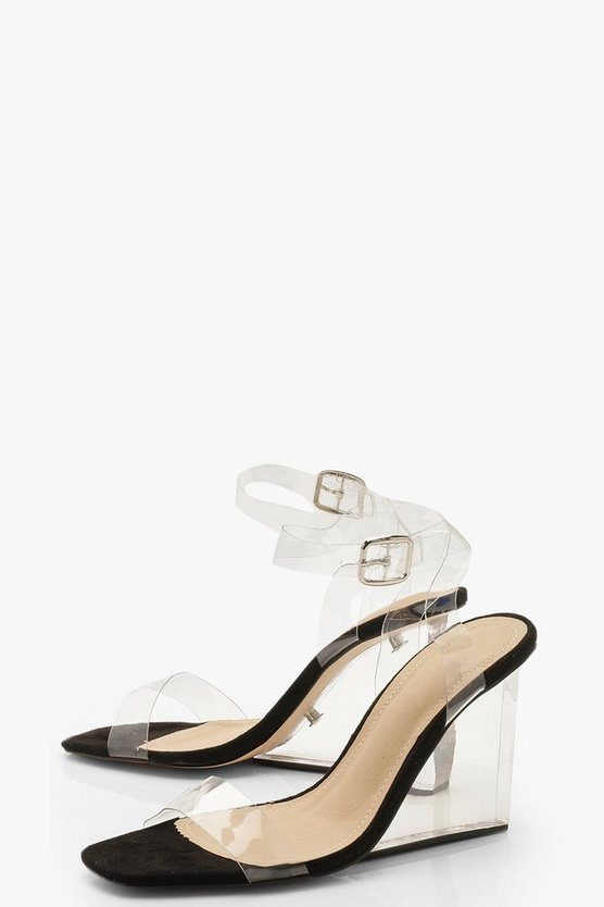 Clear 2 Part Wedges