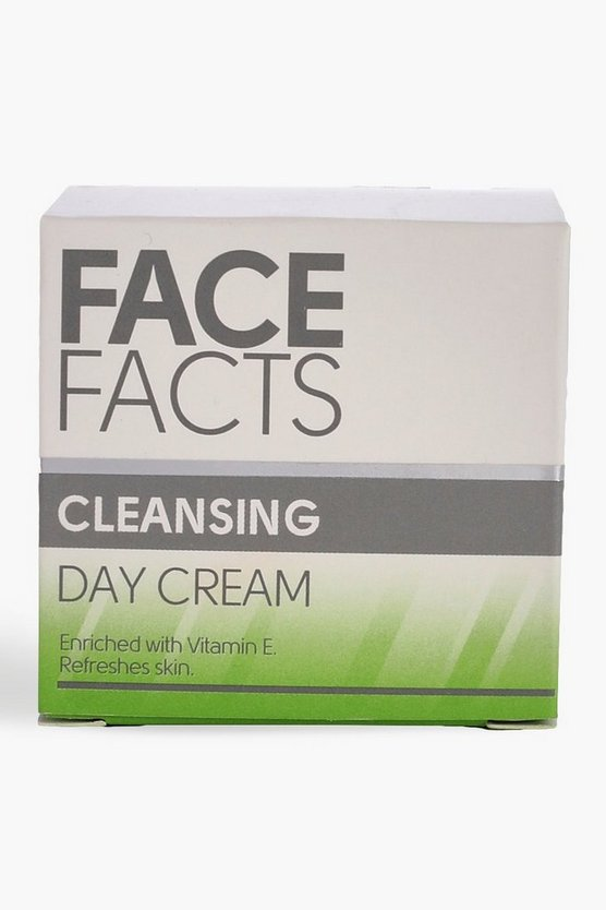 Womens White Face Facts Day Cleansing Cream