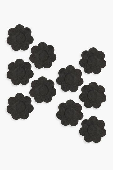 Womens Underwhere? Disposable Nipple Daisies - Black