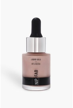 Nip & Highlighter Fab Liquid White Gold, Blanc, Femme