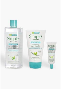 Набор Simple Daily Skin Detox, Multi, ЖЕНСКОЕ