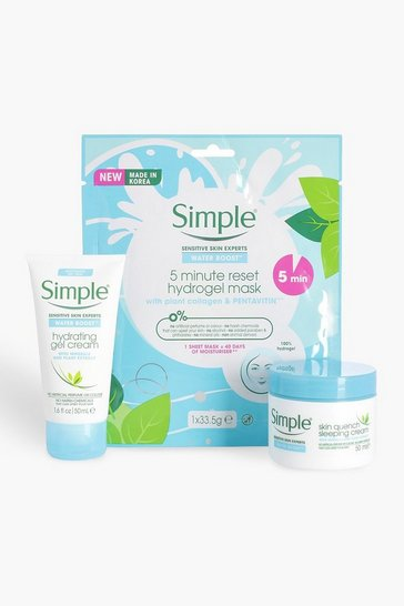 Womens Multi Simple Waterboost & Face Mask Bundle
