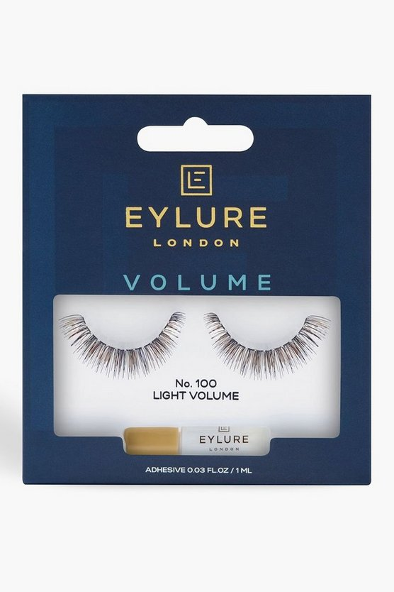 Womens Black Eylure Volume Lashes 100